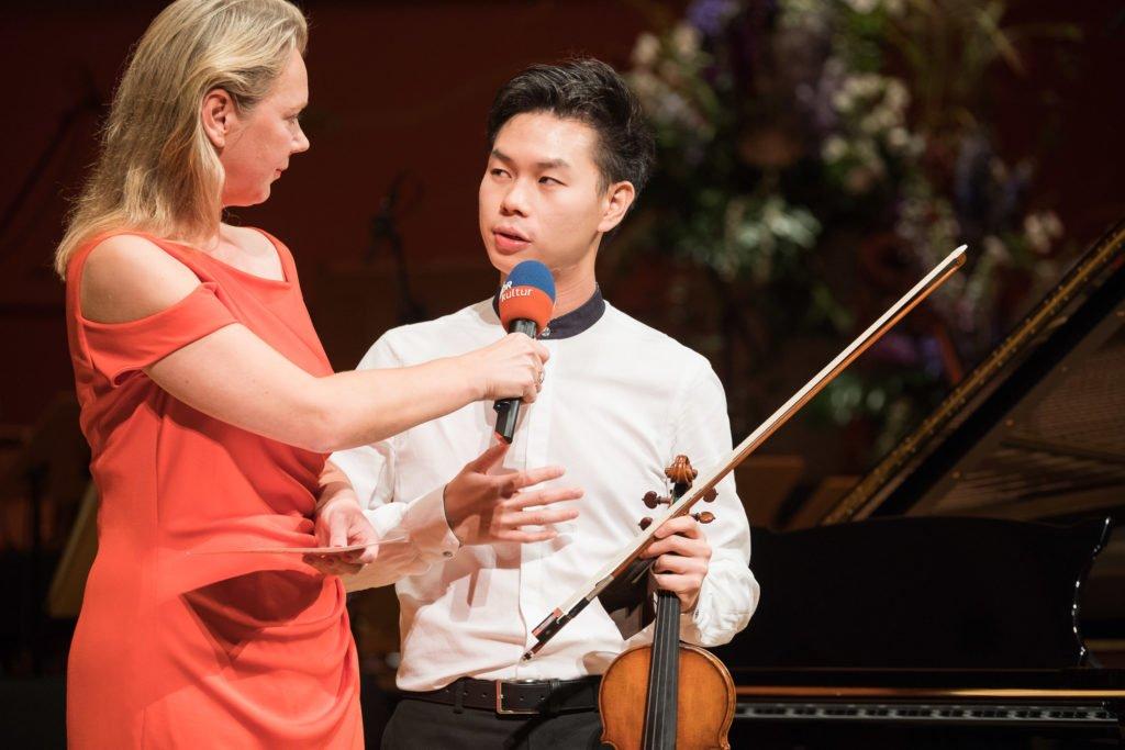 10. Internationaler Joseph Joachim Violinwettbewerb Hannover mit Gewinner Timothy Chooi
